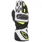 Guanti moto Alpinestars SP-2 Black White Yellow Fluorescente