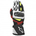 Guanti moto Alpinestars SP-2 Black White Yellow Red