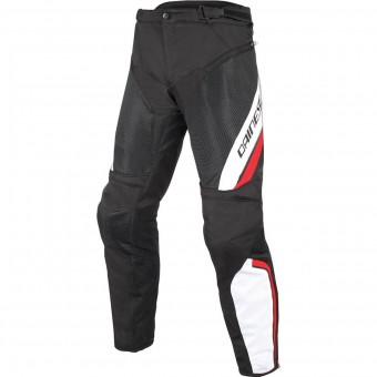 Pantalone moto Dainese Drake Air D-Dry Black White Red