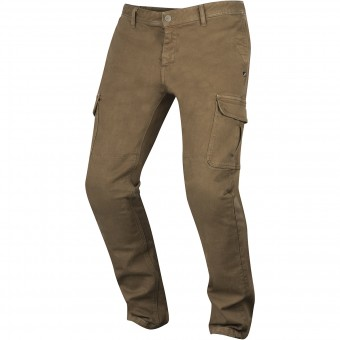 Pantalone moto Alpinestars Deep South Denim Cargo Dark Sand