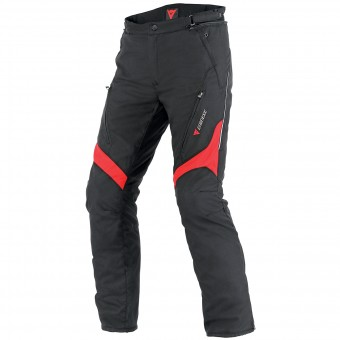 Pantalone moto Dainese Tempest D-Dry Black Red Pant