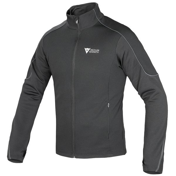 Giacche Moto Lunghe Dainese D-Mantle Fleece Black Anthracite