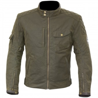 Giacche moto Merlin Hamstall Wax Cotton Brown