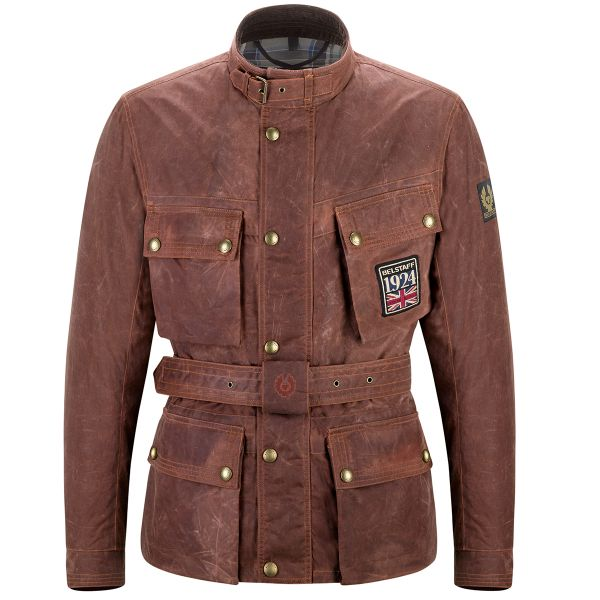 Giacche moto Belstaff Jubilee Trialmaster Soy Russet