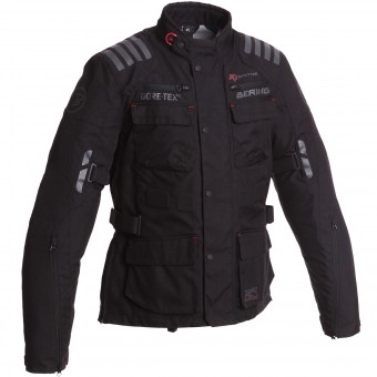 Giacche Moto Lunghe Bering Michigan Gore-Tex Black
