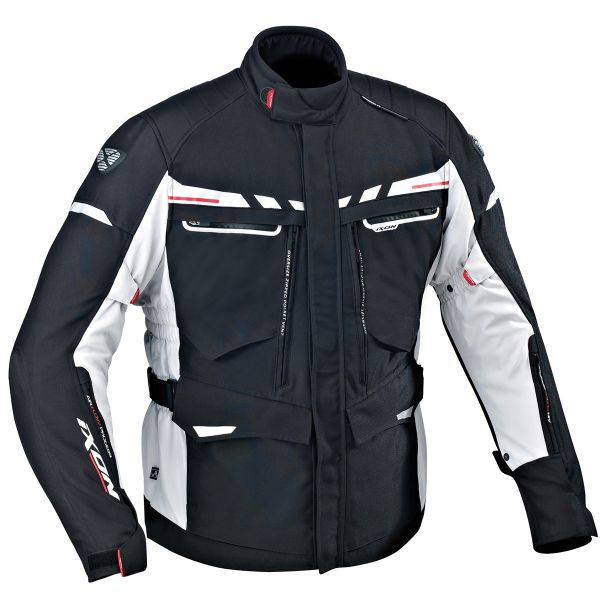 Giacche Moto Lunghe Ixon Protour HP Black Grey Red