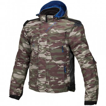 Giacche Moto Lunghe Macna Redox Camo Forest