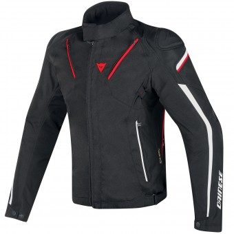 Giacche moto Dainese Stream-Line D-Dry Black Red White