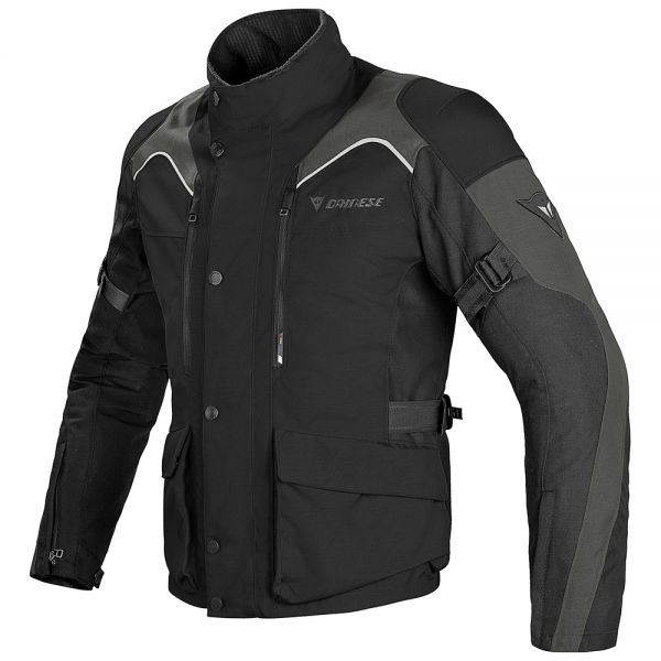 Giacche Moto Lunghe Dainese Tempest D-Dry Black Dark Grey