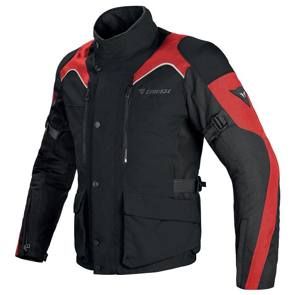 Giacche Moto Lunghe Dainese Tempest D-Dry Black Red