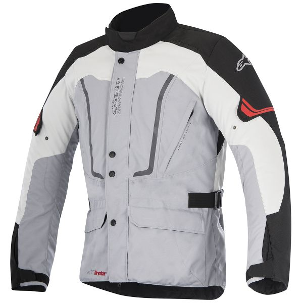 Giacche Moto Lunghe Alpinestars Vence Drystar Grey Black