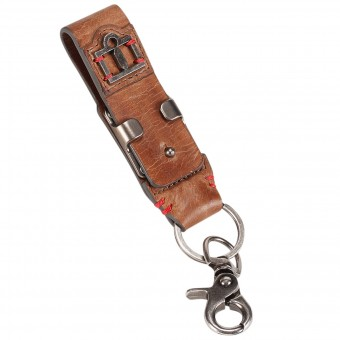 Regali ICON 1000 Leather Belt Loop Keychain