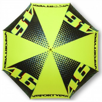 Regali VR 46 Umbrella Big VR46 Yellow Black