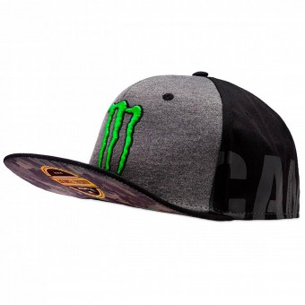 Berretti da baseball moto VR 46 Cap Adj Replica Monster Black VR46