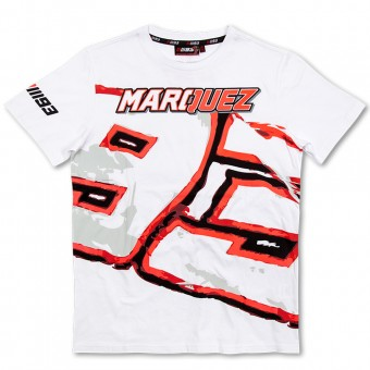 T-Shirt Moto Marquez 93 T-Shirt White MM93