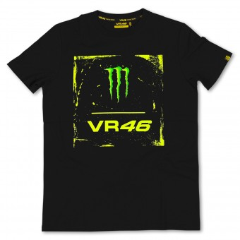 T-Shirt Moto VR 46 Monster Black VR46