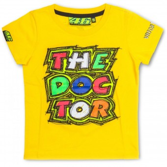 T-Shirt Moto VR 46 T-Shirt Kid The Doctor Yellow VR46