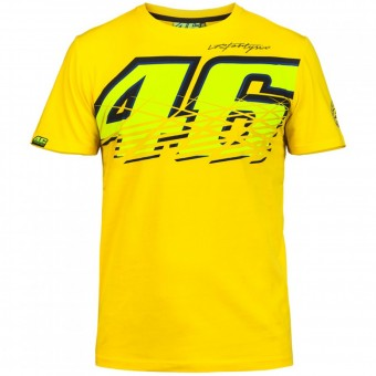 T-Shirt Moto VR 46 T-Shirt Yellow VR46
