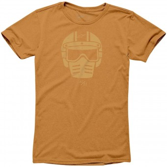 T-Shirt Moto Alpinestars Visor Tee Orange Heather