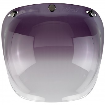 Visiera Biltwell Bubble Shield Gradient Smoke