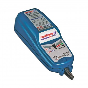 Batterie moto Tecmate Optimate 5 Voltmatic - 6v e 12v