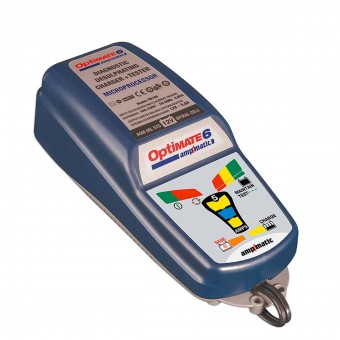 Batterie moto Tecmate Optimate 6 Amp-Matic