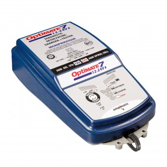 Batterie moto Tecmate Optimate 7 - 12v e 24v