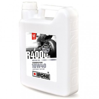 Olio motore IPONE R4000 RS - 10W40 Synthetic Plus - 4 Litri 4T