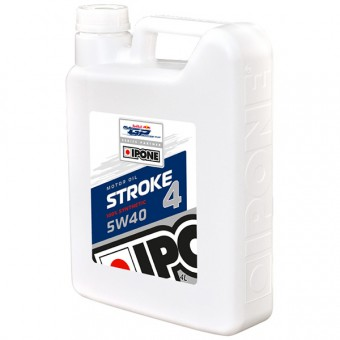 Olio motore IPONE Stroke 4 - 5W40 100 % Synthetic - 4 Litri 4T