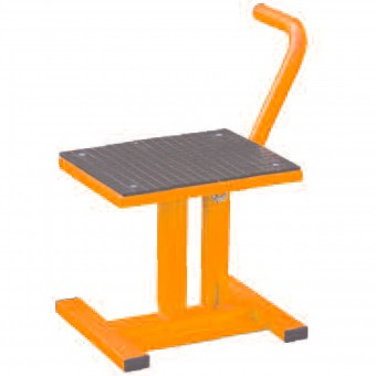 Cavalletto Alza moto MAD Paddock Stand Cross Orange