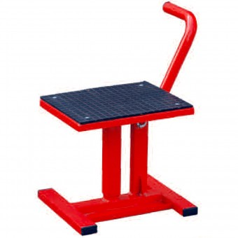 Cavalletto Alza moto MAD Paddock Stand Cross Red