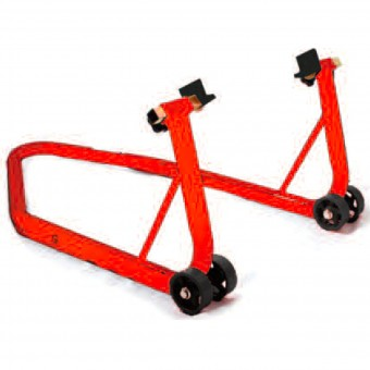 Cavalletto Alza moto MAD Paddock Stand Posteriore Big Red