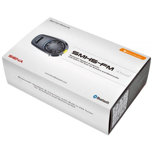 Comunicazione Sena Kit Bluetooth SMH5 Duo FM