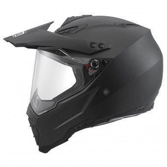 Casque Cross AGV AX-8 Dual Evo Nero Opaco