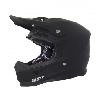 Casque Cross SHOT Furious Matt Black