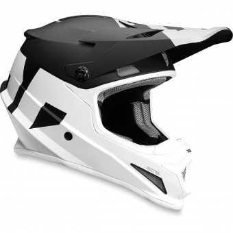 Casque Cross Thor Sector Level Black White