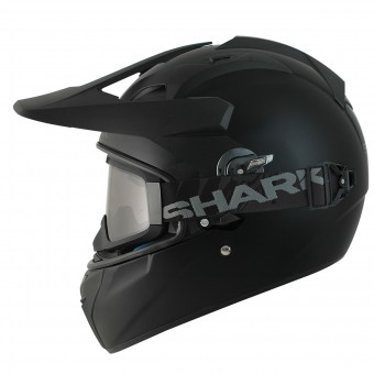 Casque Cross Shark Explore-R Blank Mat KMA