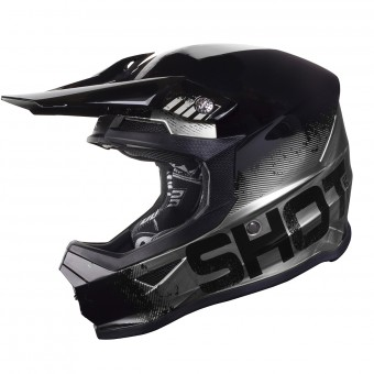 Casque Cross SHOT Furious Coalition Argento