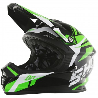 Casque Cross SHOT Furious Squad Green