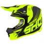 Casque Cross SHOT Furious Ultimate Neon Giallo Opaco