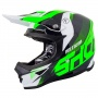 Casque Cross SHOT Furious Ultimate Neon Verde