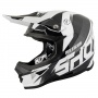 Casque Cross SHOT Furious Ultimate Nero Bianco
