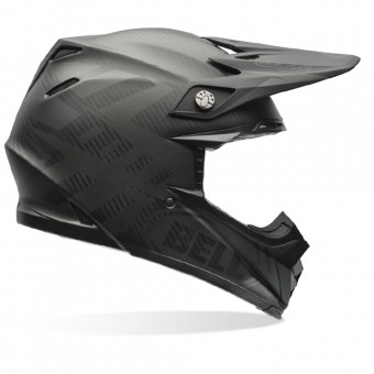 Casque Cross Bell Moto-9 Carbon Flex Matte Syndrome Black