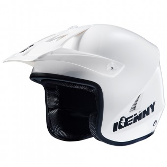 Casque Cross Kenny Trial Up White Black