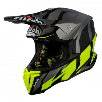 Casque Cross Airoh Twist Great Antracite Opaco
