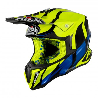 Casque Cross Airoh Twist Great Giallo