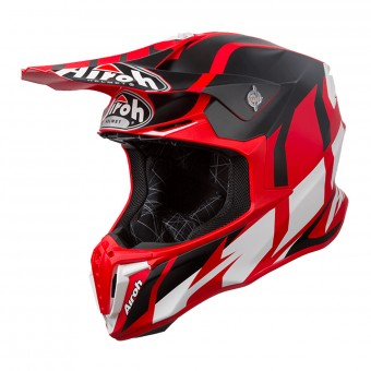 Casque Cross Airoh Twist Great Rosso Opaco