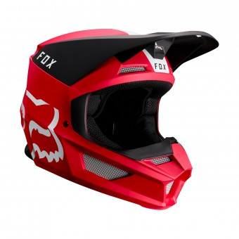 Casque Cross FOX V1 Mata Cardinal