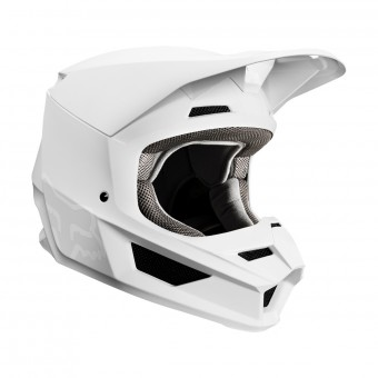 Casque Cross FOX V1 Matte Bianco