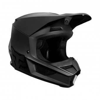 Casque Cross FOX V1 Matte Nero